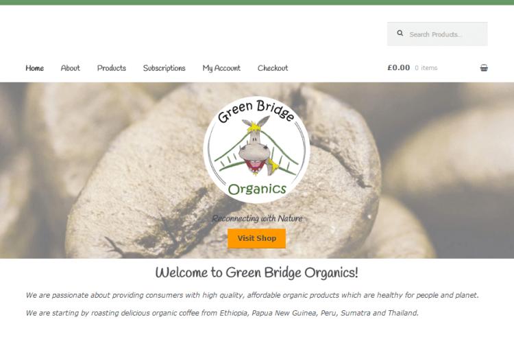 Green Bridge Organics: Desktop