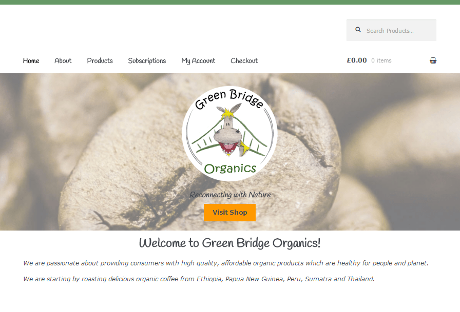 Green Bridge Organics: Desktop