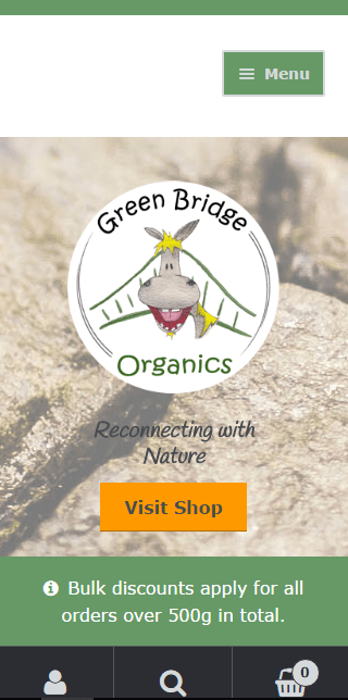 Green Bridge Organics: Mobile