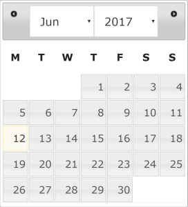 jQuery UI Datepicker