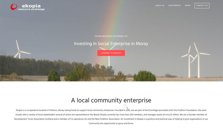 Ekopia: Desktop Screenshot