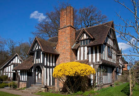 Selly Manor, Bournville. A Birmingham house museum.