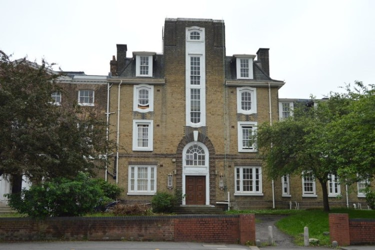 Thorpe Combe Hospital, one of the historic houses of walthamstow