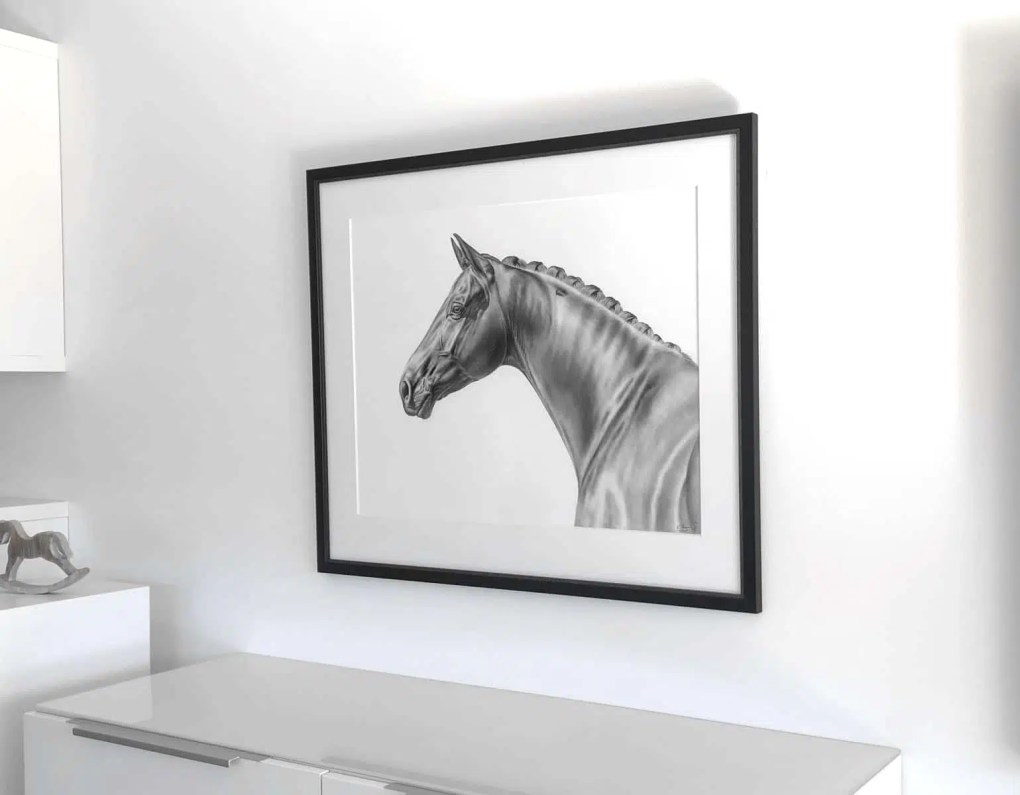 Referenzen Kunstwerk Pferd