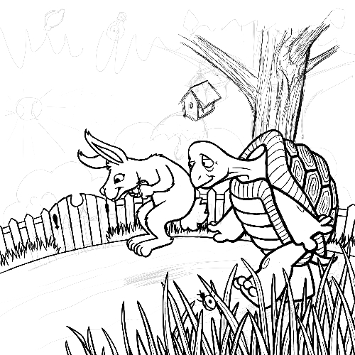 The Tortoise and The Hare – Work in Progress