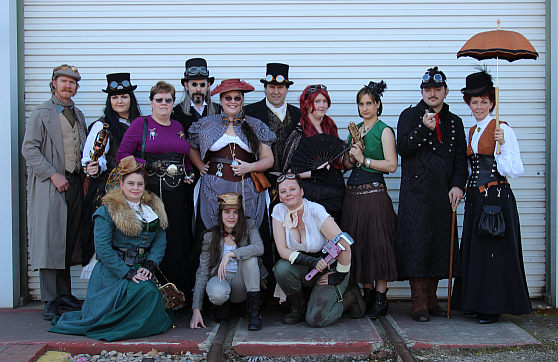 steampunk expo 2014 group
