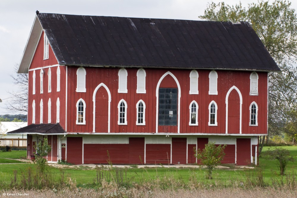 Ohio Farms: Antique Barns and Landscapes (1/6)