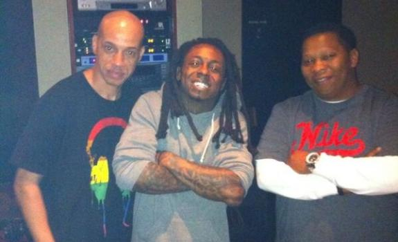 Lil Wayne and Mannie Fresh in the Studio