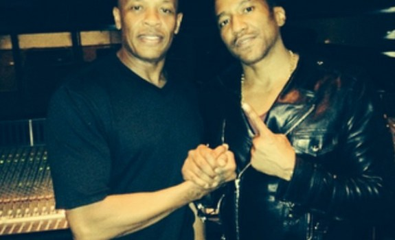 Q-Tip and Dr. Dre on Instagram