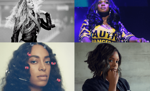 top female artists 2016
