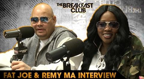 remy ma fat joe breakfast club