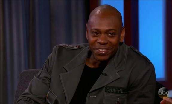 dave chappelle jimmy kimmel