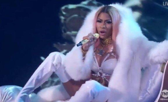 Nicki Minaj at NBA Awards
