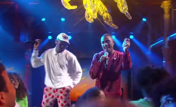 Tyler The Creator Steve Lacy 911 The Late Show