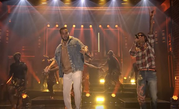 French Montana Swae Lee Unforgettable The Tonight Show Starring Jimmy Fallon