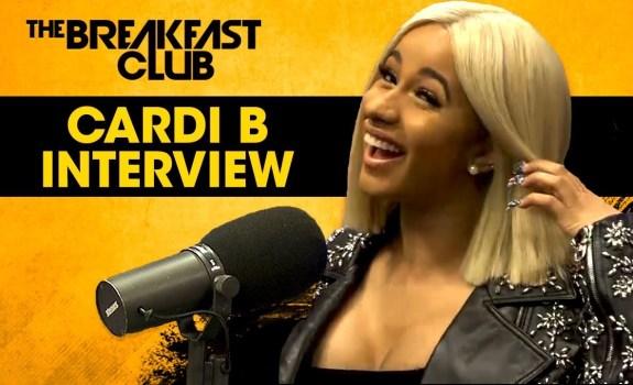 cardi b breakfast club 2017