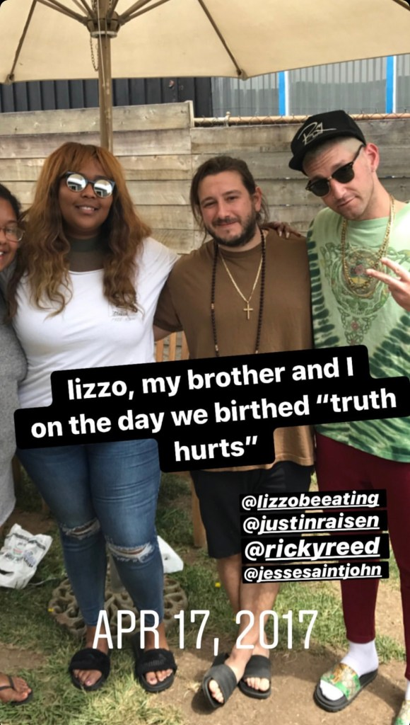 """Songwriters accuse Lizzo of refusing to credit them on """"Truth Hurts"""""""