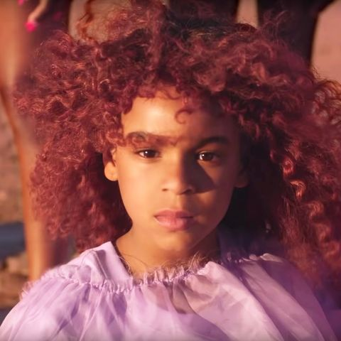 """7-Year-Old Blue Ivy Honored Soul Train Writing Award For """"Brown Skin Girl"""""""