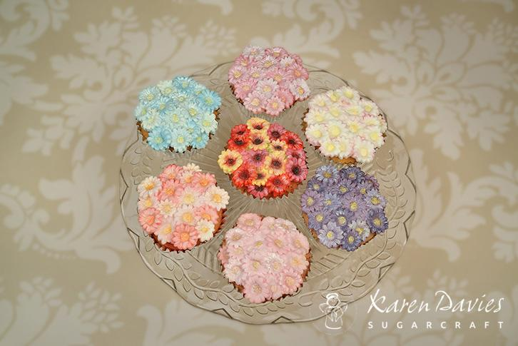 Cupcake Top - Daisy Mould
