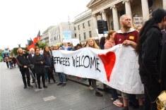 Welcome refugees Dublin