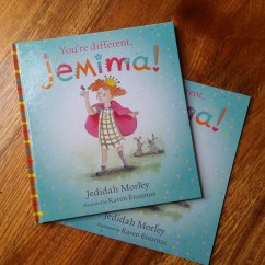 'You're Different, Jemima' by Jedida Morley published by Empowering Resources