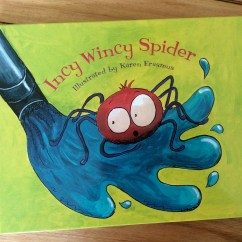 'Incy Wincy Spider' published by Hachette Children's Books