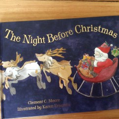 'The Night Before Christmas' published by Hachette Children's Books