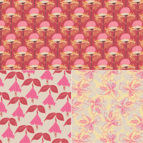 A click-through image displaying a sample of patterns