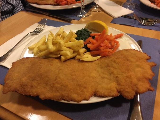 Restaurant Brunnentor Schnitzel