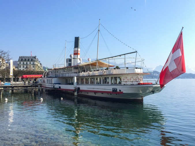 Swiss Boat in Luzern