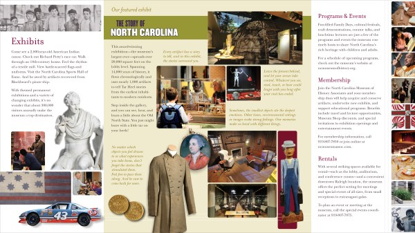 History Museum Brochure