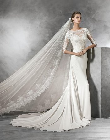 TANE PRONOVIAS KAREN FORTE WEDDING DRESS HERTFORDSHIRE