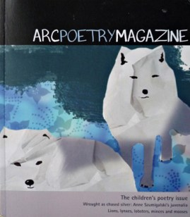 Cover - Arc Poetry Magazine - Illustration by Karen Hibbard