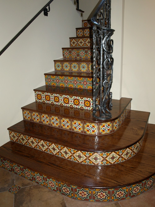 White Stair Risers Perfection Or Pain   Wood Stairs With White Risers