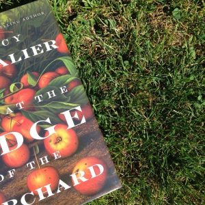 Worrying About Tracy Chevalier When I Don't Need to, Karen Hugg, Tracy Chevalier, At the Edge of the Orchard, https://karenhugg.com/2016/06/30/tracy-chevalier/ #books #novels #appletrees #TracyChevalier #historicalfiction #fiction