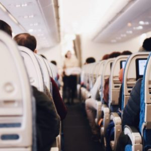airplane interior, Moving to Seattle: The Best Decision I Ever Made, Karen Hugg, The Cultivated Life, https://karenhugg.com/2013/01/18/moving-to-seattle, Photo by Suhyeon Choi #moving #Seattle #movingtoSeattle