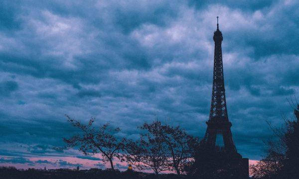 Saad Sharif, Paris at night,