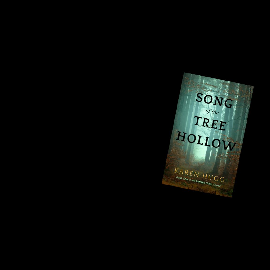 Song of the Tree Hollow header, Karen Hugg, http://www.karenhugg.com #books #novels #mystery #Seattle #cats