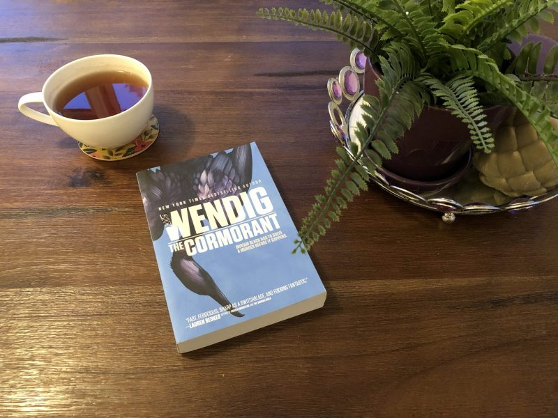 Chuck Wendig: Cool Writer to Be Like, Karen Hugg, https://karenhugg.com/2018/09/07/chuck-wendig #ChuckWendig #sciencefiction #writinglife #Cormorant #novel