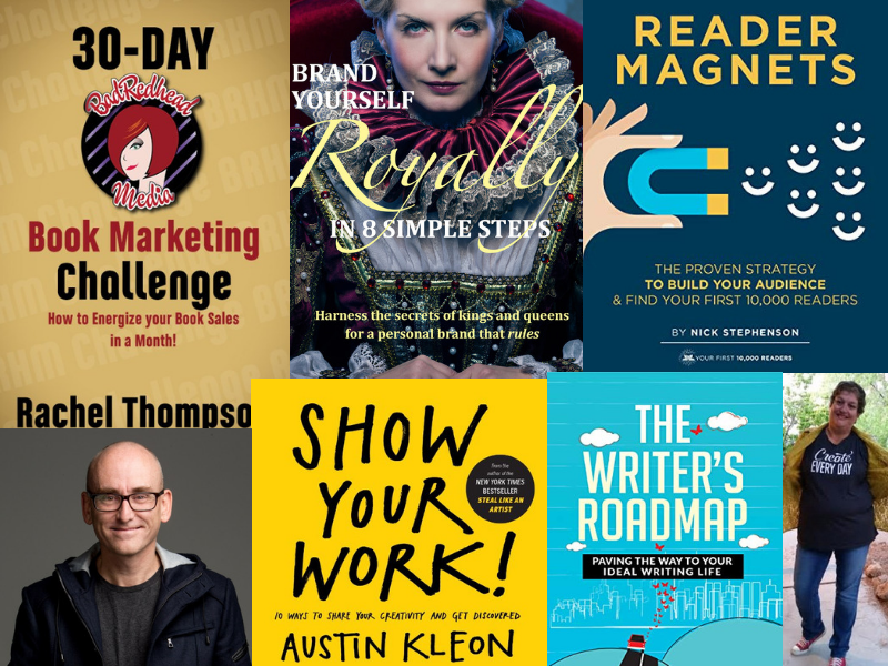 Rachel Thompson, Austin Kleon, Nancy Blanton, Darren Rowse, Shaunta Grimes, Leigh Shulman, Nick Stephenson, 7 Experts on Author Marketing You Need to Know About, Karen Hugg, https://karenhugg.com/2018/12/17/author-marketing-experts/ #books #marketing #author #brand