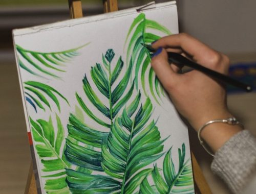 Plant Drawing, 7 Ways to Get Creative When You're Not in the Mood, Karen Hugg, https://karenhugg.com/2019/02/08/ways-to-get-creative/ #howtogetcreative #writing #craftofwriting #artist