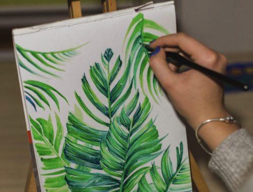 Plant Drawing, 7 Ways to Get Creative When You're Not in the Mood, Karen Hugg, https://karenhugg.com/2019/02/08/ways-to-get-creative/ #howtogetcreative #writing #craftofwriting #artist