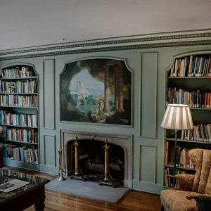 Reading Space, Why a Reading Space Is Important for the Soul, Karen Hugg, https://karenhugg.com/2019/06/11/reading-space/ #books #readingspace #fiction #chair #readingroom #paintings #gardening #plants