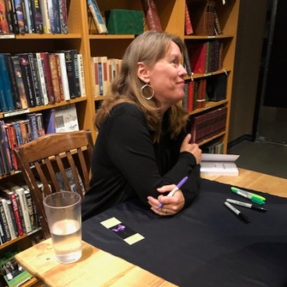 Karen Hugg Book Reading 2, The Strange Sensation of Being a Book Star for an Hour, Karen Hugg, https://karenhugg.com/2019/07/14/book-reading/ #KarenHugg #book #reading #TheForgettingFlower #Paris #fiction #literary #thrillers #Seattle #ThirdPlaceBooks