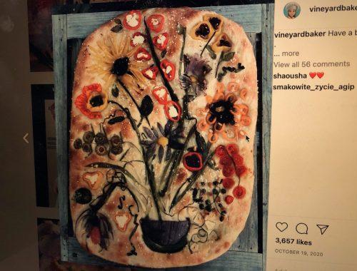 Bread Art, A Fun Way to Put Plant Art in Food, Daily Stress ReLeaf, Karen Hugg, https://karenhugg.com/2021/02/26/plant-art-in-food/, #plants #food #bread #art #herbs #dailystressreleaf #destressing #stress #relaxation #mentalhealth