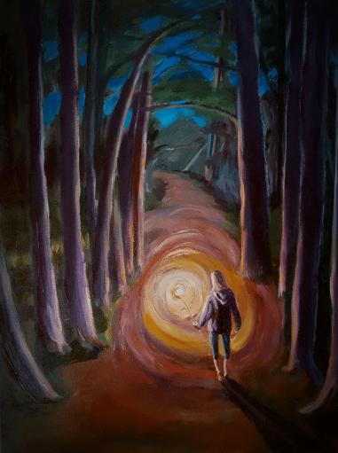 Lighting the Path, Karen Huss