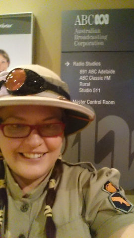 ABC radio interview on steampunk Festival 2015 may 29