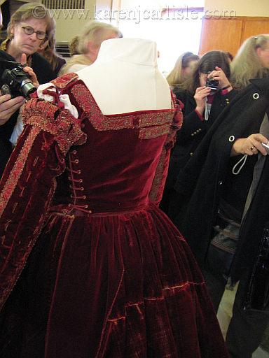 pisa dress 2008 JA tribute costume colloqium Florence