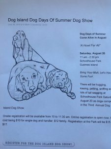 Island Dog Show Poser from Google Imges