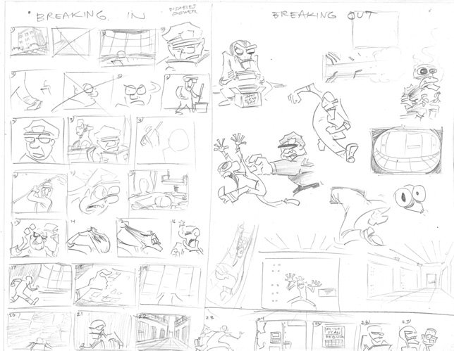 One Artist's Process: Brainstorming and Thumbnails